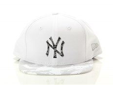 Cappello New Era Reflective Digi Camo New York Yankees Optic White