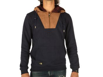 New Era Crafted HZ Hoody Blu scuro big
