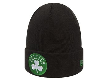 New Era Team Essential Cuff Knit Boston Celtics OTC Nero Uomo e ... 2949710550bd