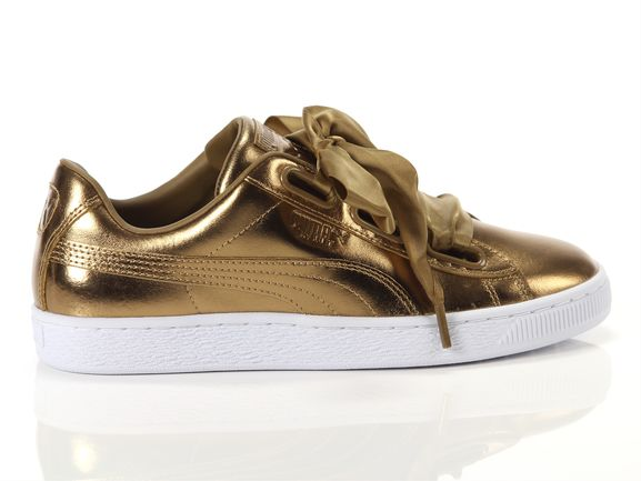pretty nice bfe50 ba780 Puma Basket heart luxe brown Woman 366730 02 | YOUSPORTY