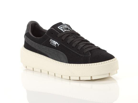 competitive price e8f31 89965 Puma Platform trace dots jr black Kid 367818 01 | YOUSPORTY