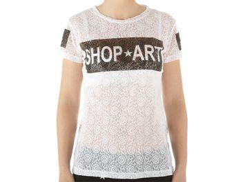 t shirt supreme donna bianca