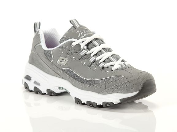 Skechers D lites grey Woman 11936 gyw | YOUSPORTY