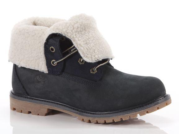 El otro día Atlético Mareo  Timberland Authentics teddy fleece fold-down boot blue Woman 8333r |  YOUSPORTY