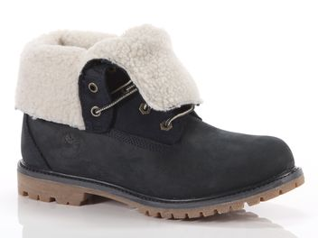 Timberland Authentics Teddy Fleece Fold-Down Boot blu big