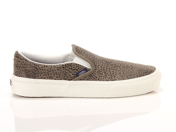 vans slip on marroni