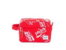 Beauty Case Herschel Chapter Travel Kit Coca Cola