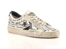Sneakers Converse Pro Leather Vulc Ox Limited Edition Bianco Blu