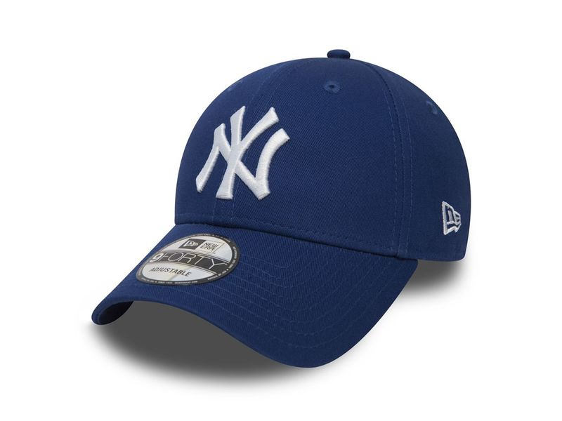Image of New Era 940 league basic new york yankees light royal optic white,