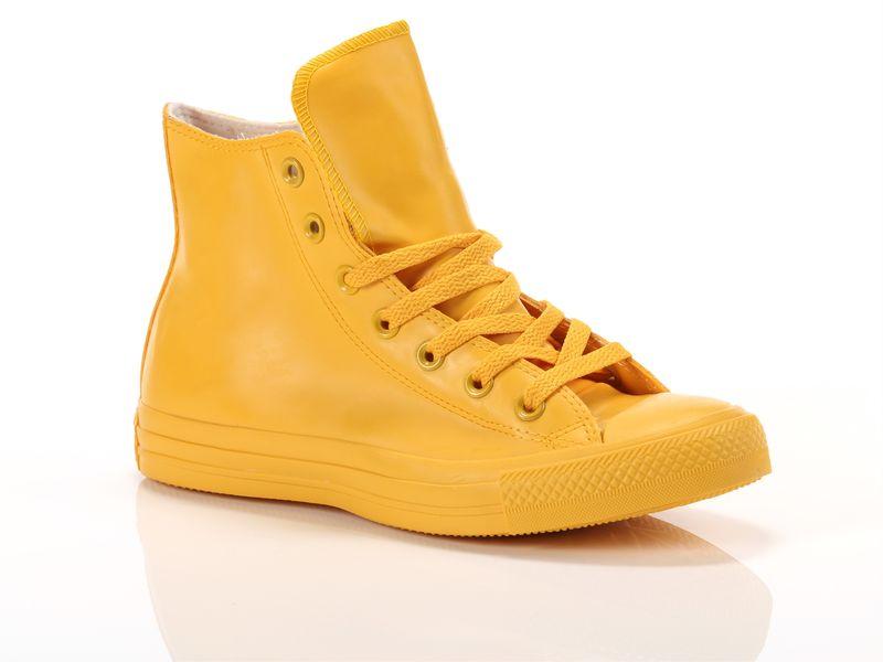 Image of Converse chuck taylor all star high rubber giallo, 36, 36½, 37, 38