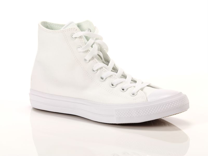 Image of Converse chuck taylor all star ii hi all white, 36, 36½