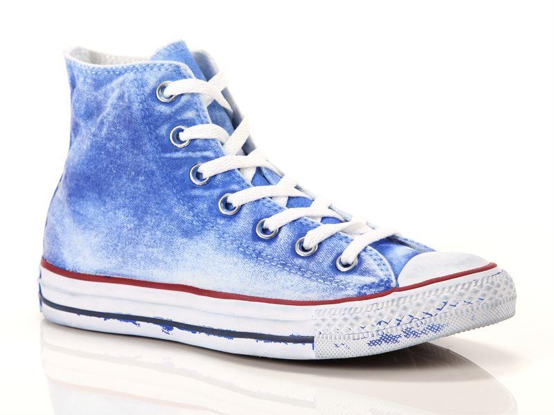 Image of Converse all star hi canvas ltd azzurre, 36, 37