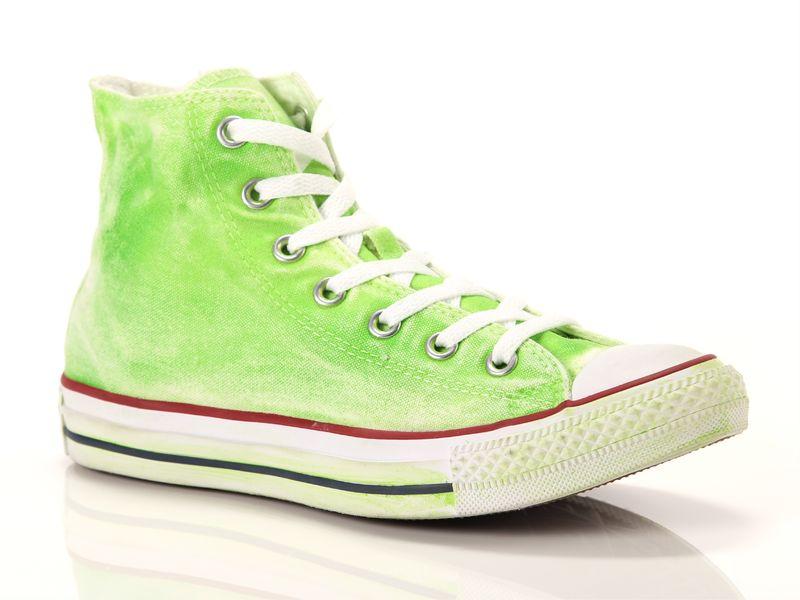 Image of Converse all star hi canvas ltd verdi, 36½, 37