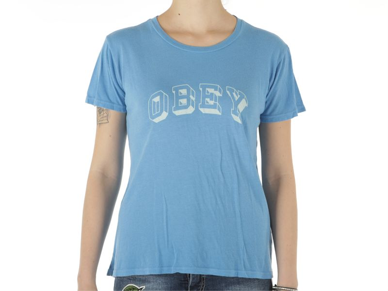 Image of Obey university heritage ss tee wo s, M, S Donna,