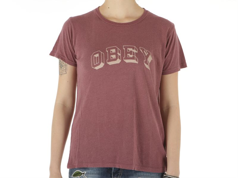 Image of Obey university heritage ss tee wo s, S Donna,