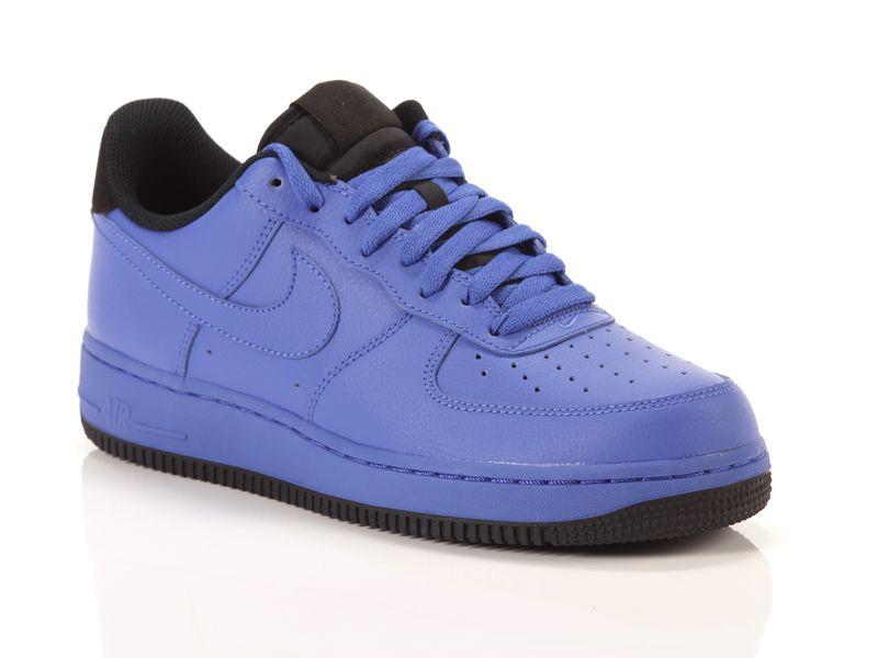 Image of Nike air force 1 07 comet blue black, 42½, 43 Uomo, NoirNegro