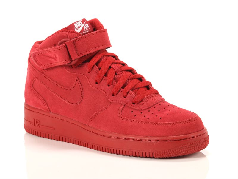 Image of Nike air force 1 mid 07 gym red, 40, 42½ Uomo, NoirNegro