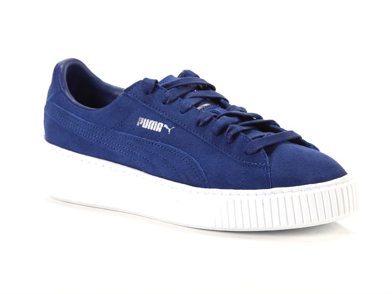 Image of Puma suede platform peacoat white, 39 Donna,