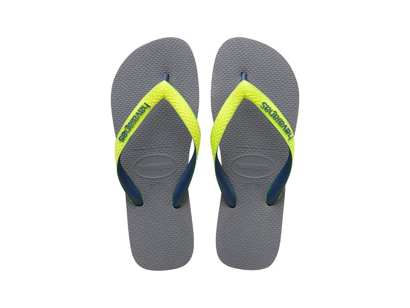 Image of Havaianas top mix steel grey led yellow, 33-34 Negro