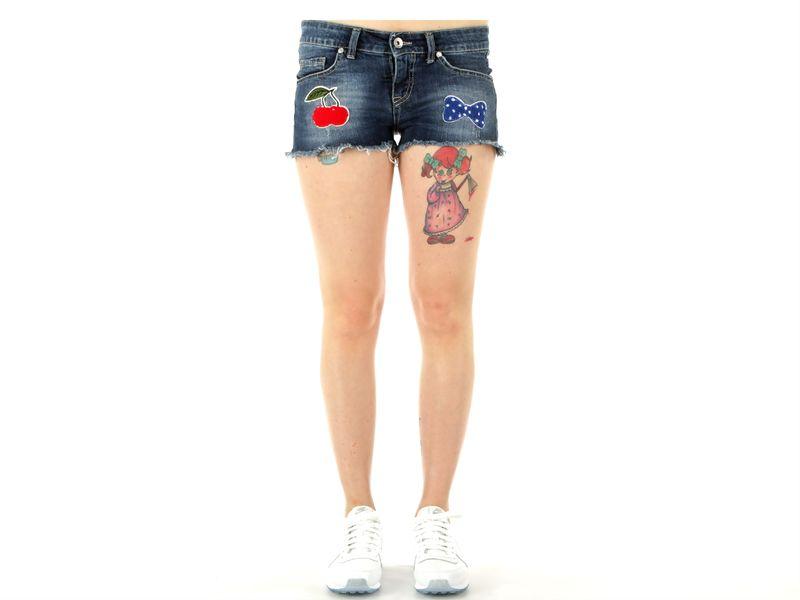 Image of Berna short jeans donna, 40 Donna,