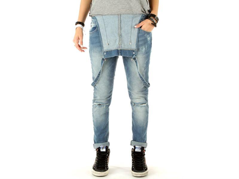 Image of Berna salopette jeans donna, 40, 42 Donna,