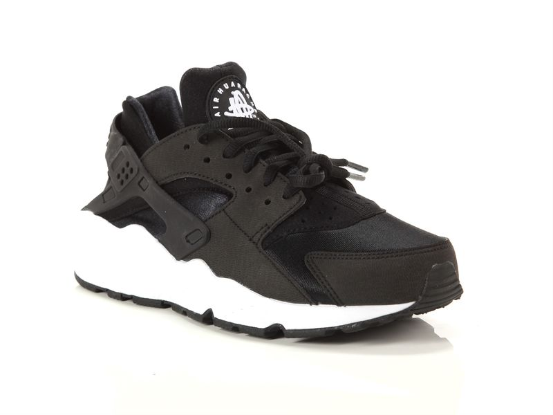 Image of Nike wmns air huarache run black black white, 36½ Donna, AzulBleu