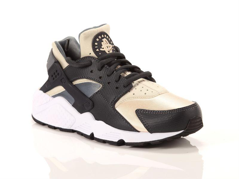 Image of Nike wmns air huarache anthracite oatmeal cool grey black, 36 Donna, AzulBleu