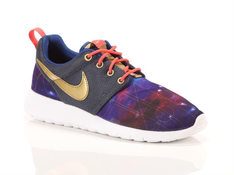 Image of Nike roshe run print gs, 37½, 38, 38½ Ragazza, Bleu
