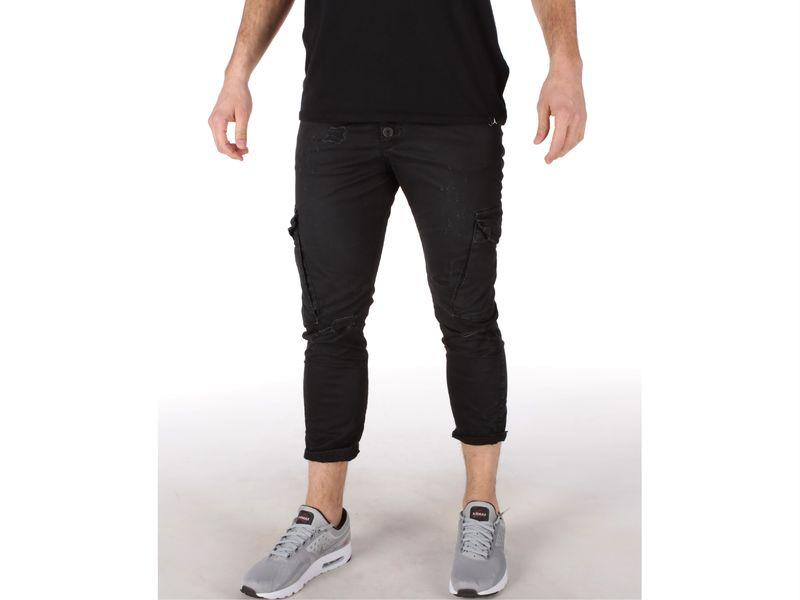 Image of Berna pantalone uomo nero, 44, 46, 48, 50, 52 Uomo, Negro