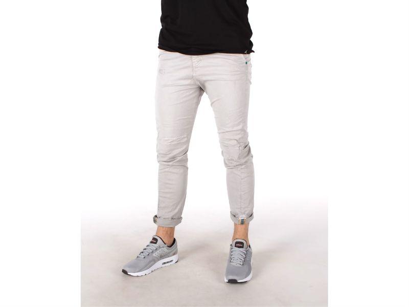 Image of Berna pantalone uomo perla, 44, 46, 50, 52 Uomo,