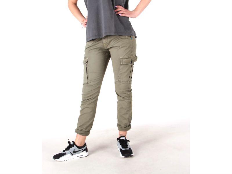 Image of Berna pantalone donna tasche verde, 40, 42, 44 Donna,
