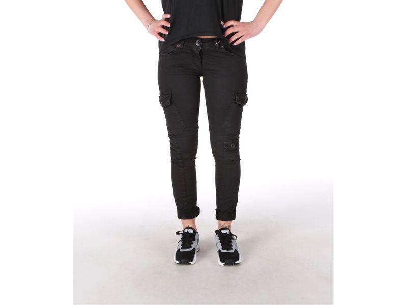 Image of Berna pantalone donna tasche nero, 40, 42, 44, 46 Donna,