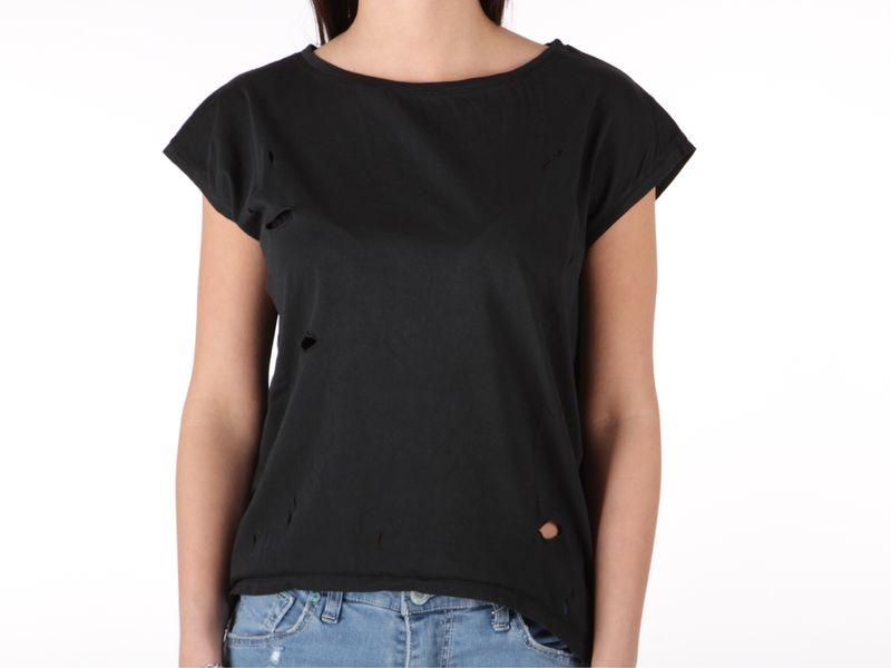 Image of Berna maglia donna buchi nero, L, M, S Donna,