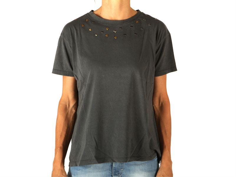 Image of Berna t-shirt berna donna stelle cuori nero, L, M, S Donna, Negro