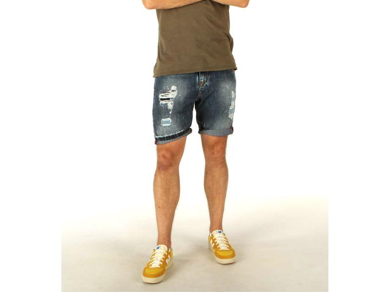 Image of Berna bermuda uomo jeans, 44, 46, 48, 50 Uomo, Negro