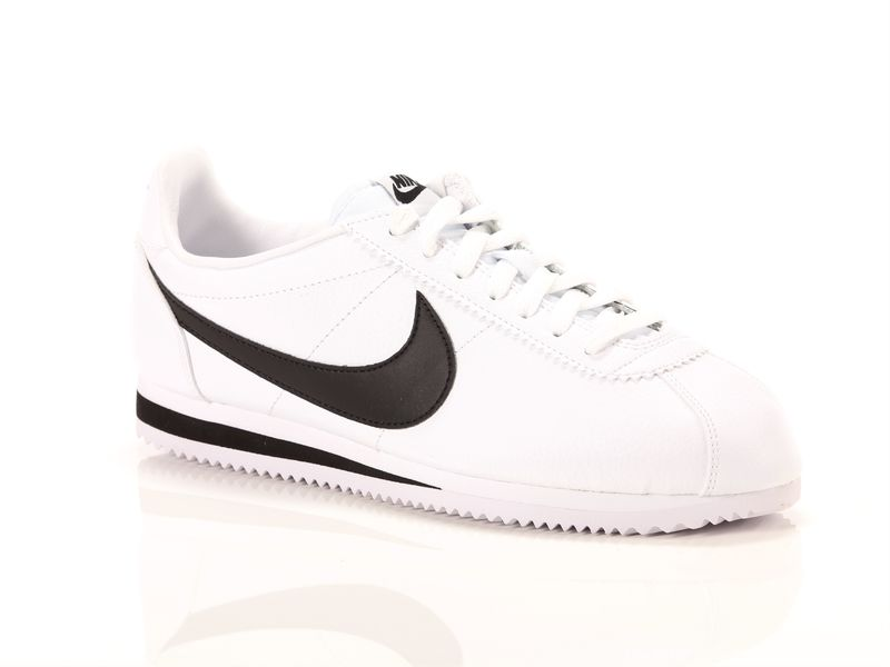 Image of Nike classic cortez leather white black, 44, 44½, 45, 45½, 46, 40, 40½, 41, 42, 42½, 43 Uomo,