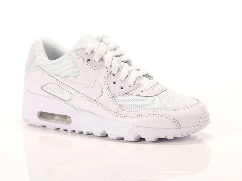 Image of Nike air max 90 mesh gs white, 40 Unisex ragazzi, BleuBluAzulBleu