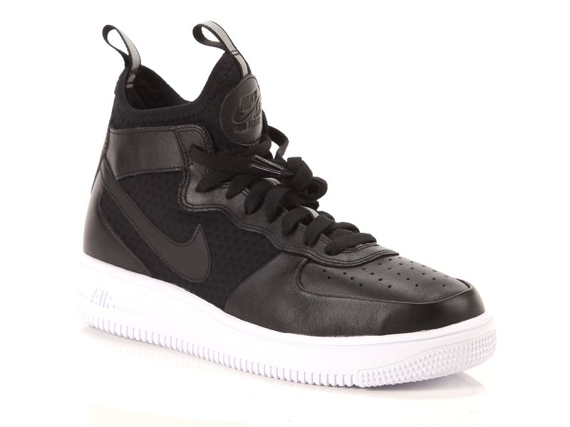 Image of Nike air force 1 ultraforce mid black white, 44½, 40½, 42½ Uomo, NeroNoir