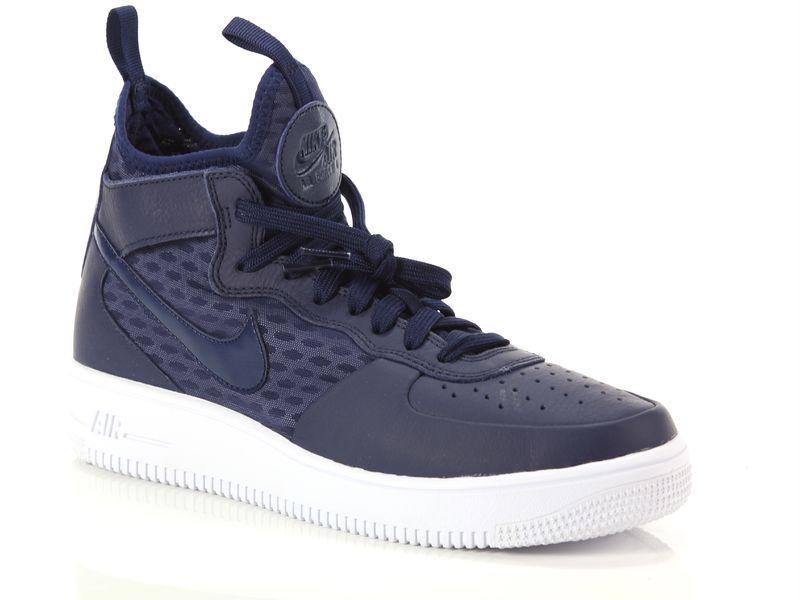 Image of Nike air force 1 ultraforce mid binary blue, 45, 41, 42, 43 Uomo, NoirNegro