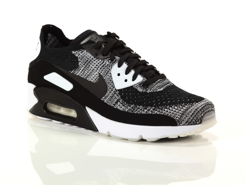Image of Nike air max 90 ultra 2.0 flyknit black white, 41 Uomo, NoirNegro