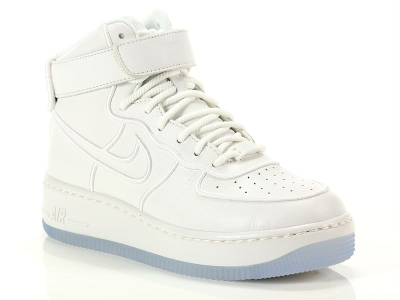 Image of Nike wmns air force 1 upstep high si summit white blue, 35½, 36, 36½, 37½, 38, 38½, 39, 40, 40½ Donna, NeroNoir