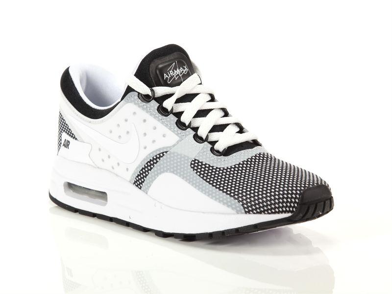 Image of Nike air max zero essential gs black white wolf grey, 37½, 38, 38½, 39 NoirNegro