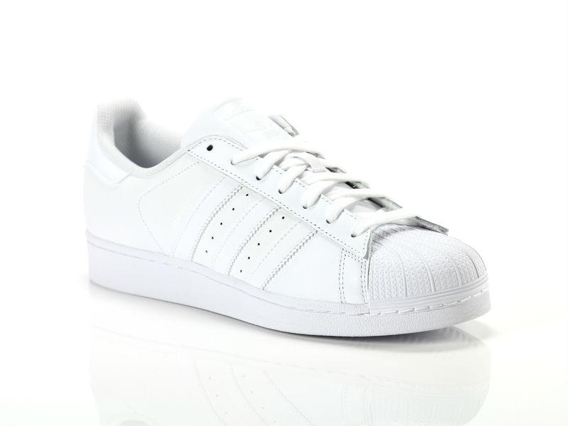 Image of Adidas superstar foundation white, 42, 44 Negro