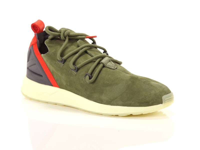 Image of Adidas zx flux adv x olive purple, 44 Uomo,