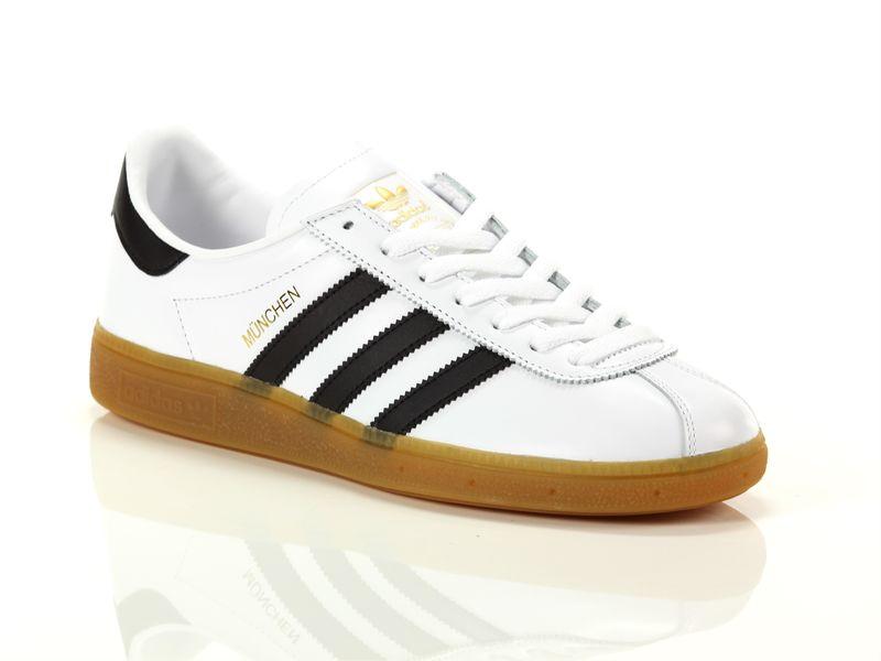 Image of Adidas munchen white black gumtree, 46, 42, 44 Uomo, NoirNegro