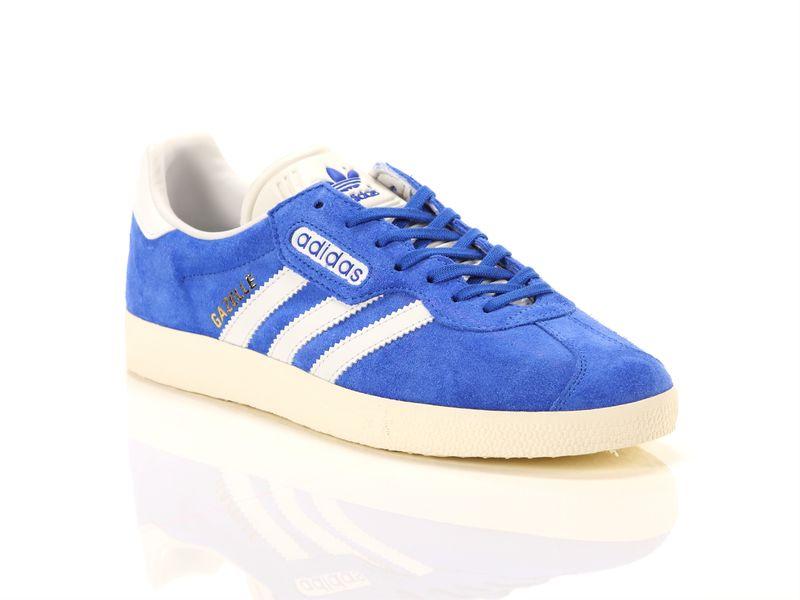 Image of Adidas gazelle super blue vintage white gold, 42 Uomo,