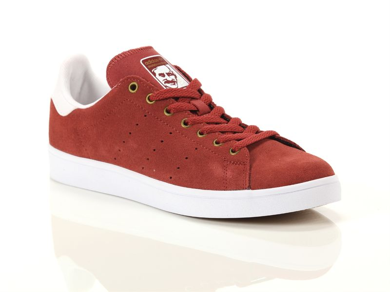 Image of Adidas stan smith vulc mystery red white, 36, 38 Bleu