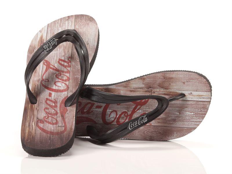 Image of Coca Cola Shoes wood, 41-42 Uomo, AzulBleu