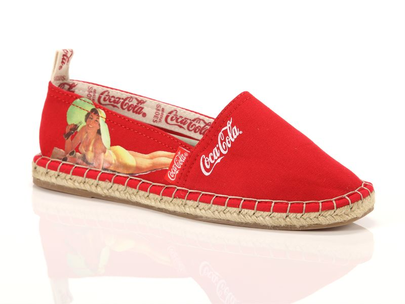 Image of Coca Cola Shoes espadrilles canvas low, 37 Donna,