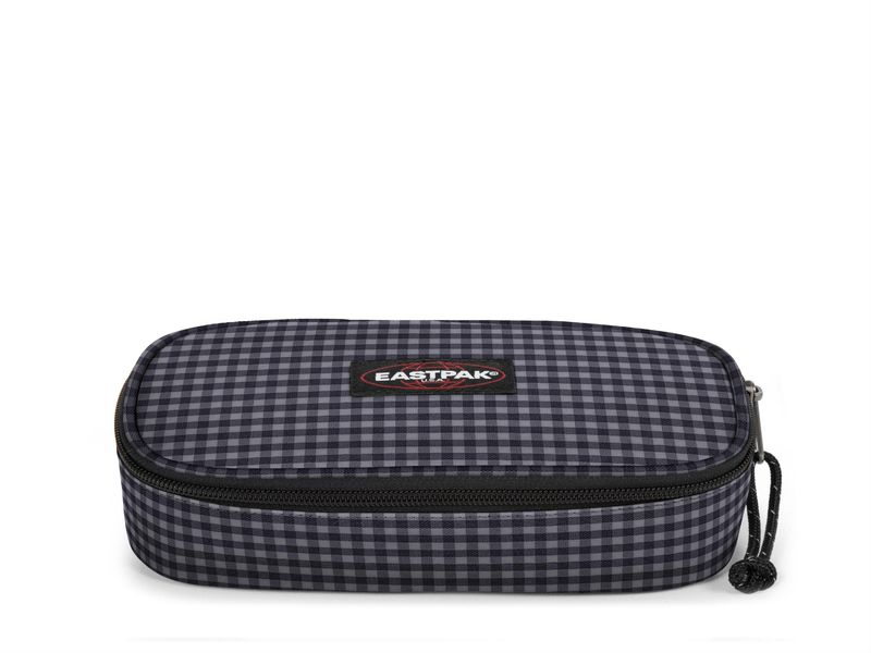 Image of Eastpak oval gingham grey, Negro